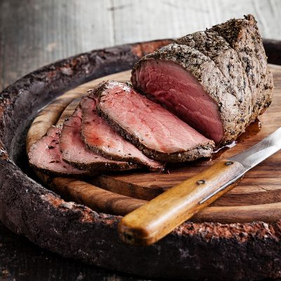 Thatcher Farms Beef Round Roast