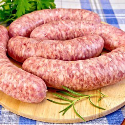 Thatcher Farms pork sausages